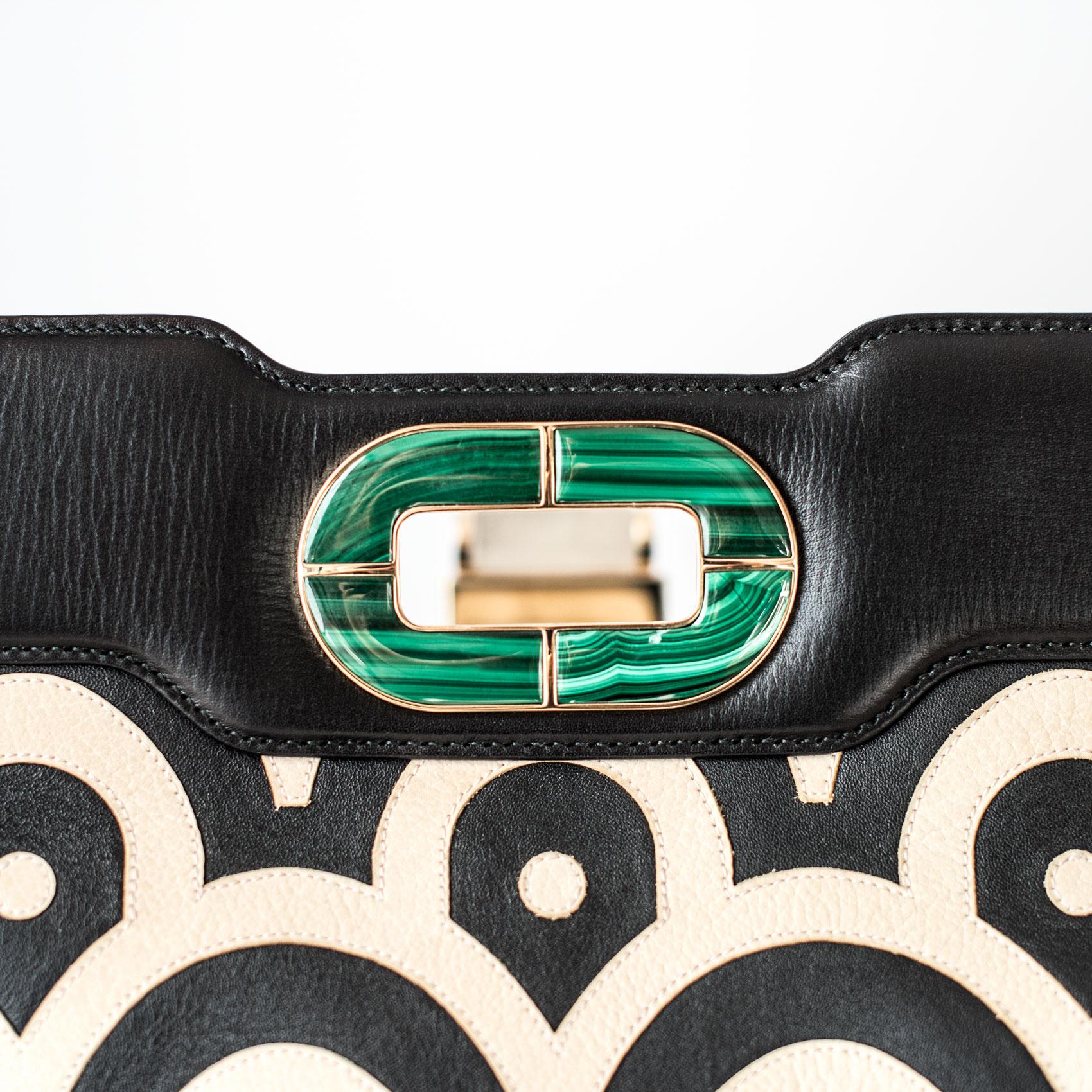 Bvlgari bag detail