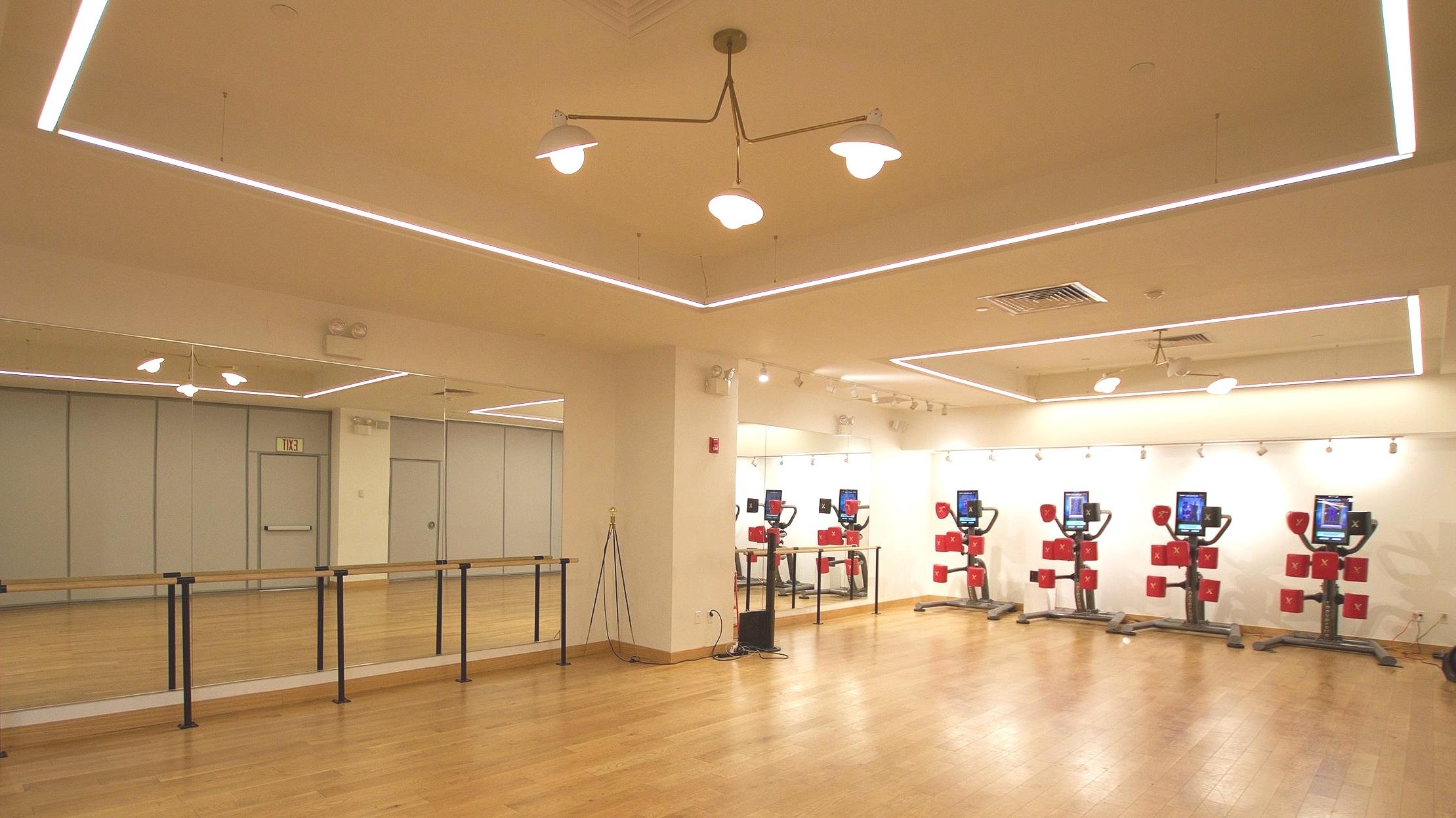 Studio space at the Flatiron location.
