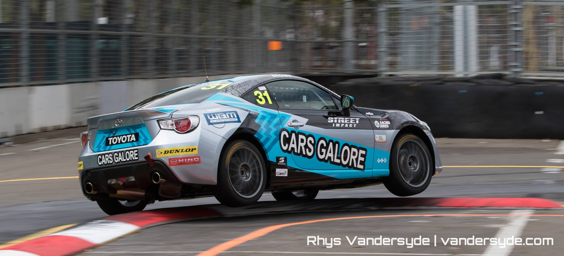 Will Brown in his Toyota 86 car