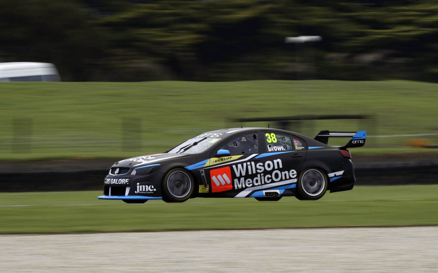 Will Brown is seen at Phillip Island