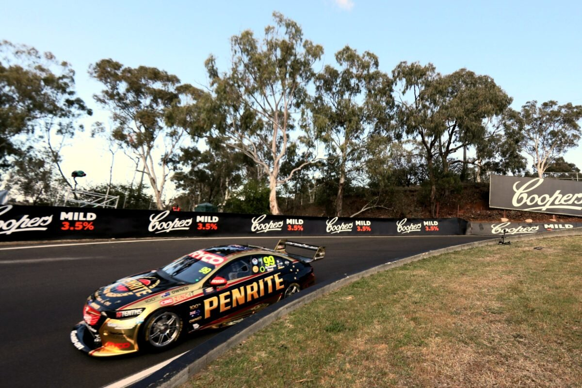 Will Brown is seen at Bathurst / pic supplied via Speedcafe