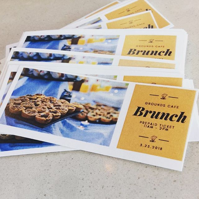 Brunch tickets are now on sale! Pre-purchase your tickets for only $14.99! #brunch #lunch #breakfast #scones #yum