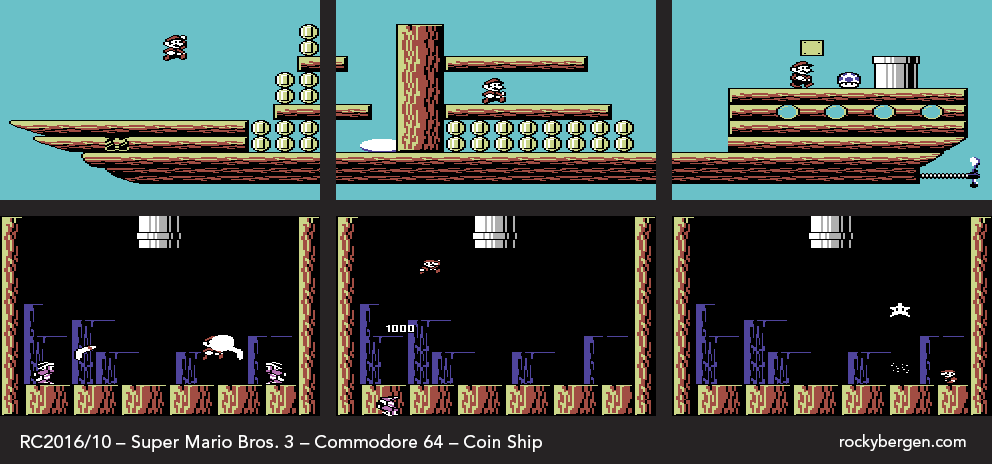 If you can get enough coins, the Hammer Bro on the Map Screen will become a Coin Ship