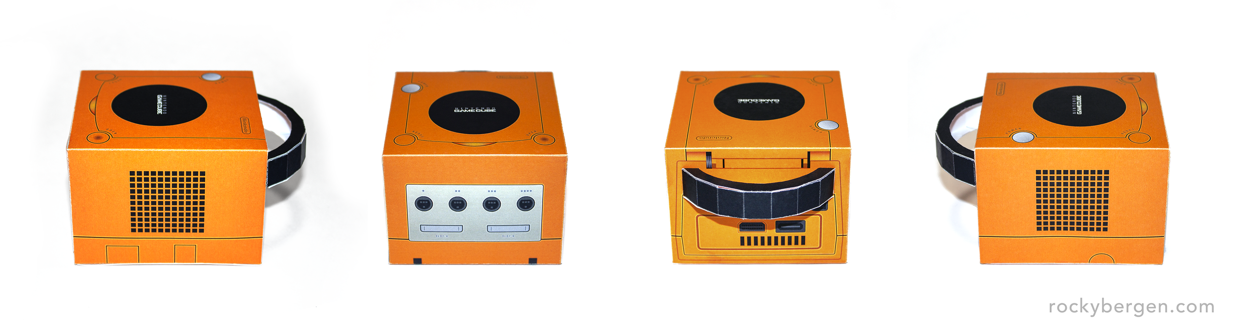The Spice-coloured GameCube was exclusive to Japan.