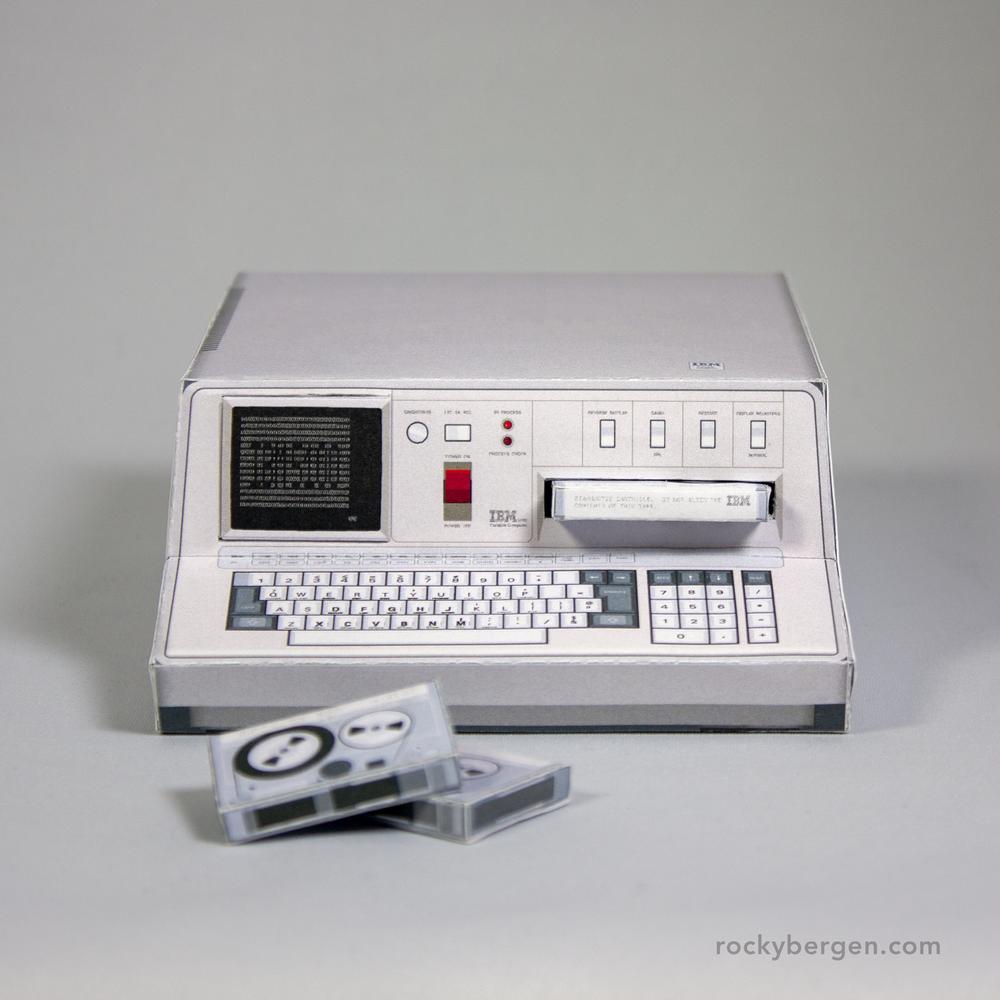 IBM 5100 Portable Computer. Imagen: Rocky Bergen, http://rockybergen.com/