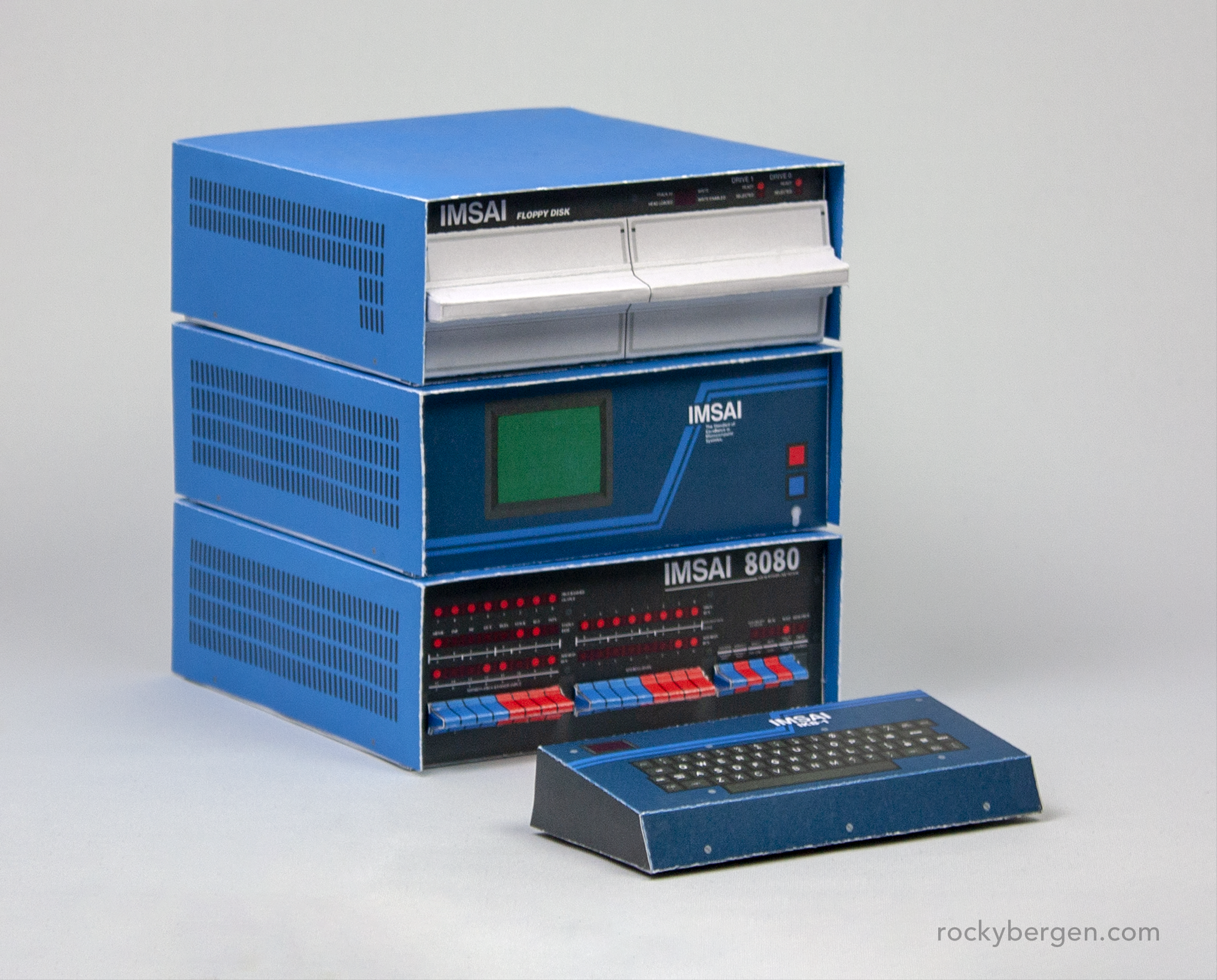 The IMSAI 8080 was part of the PCS-80 System and various modules and cards could be added to expand functionality.