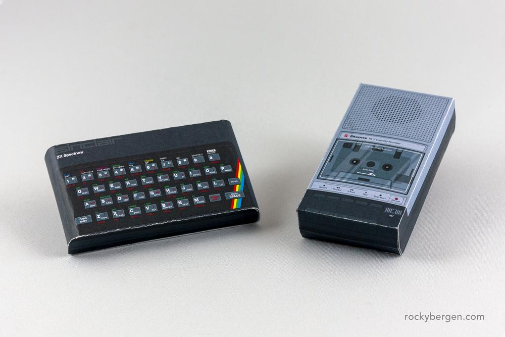 Sinclair ZX Spectrum. Imagen: Rocky Bergen, http://rockybergen.com/