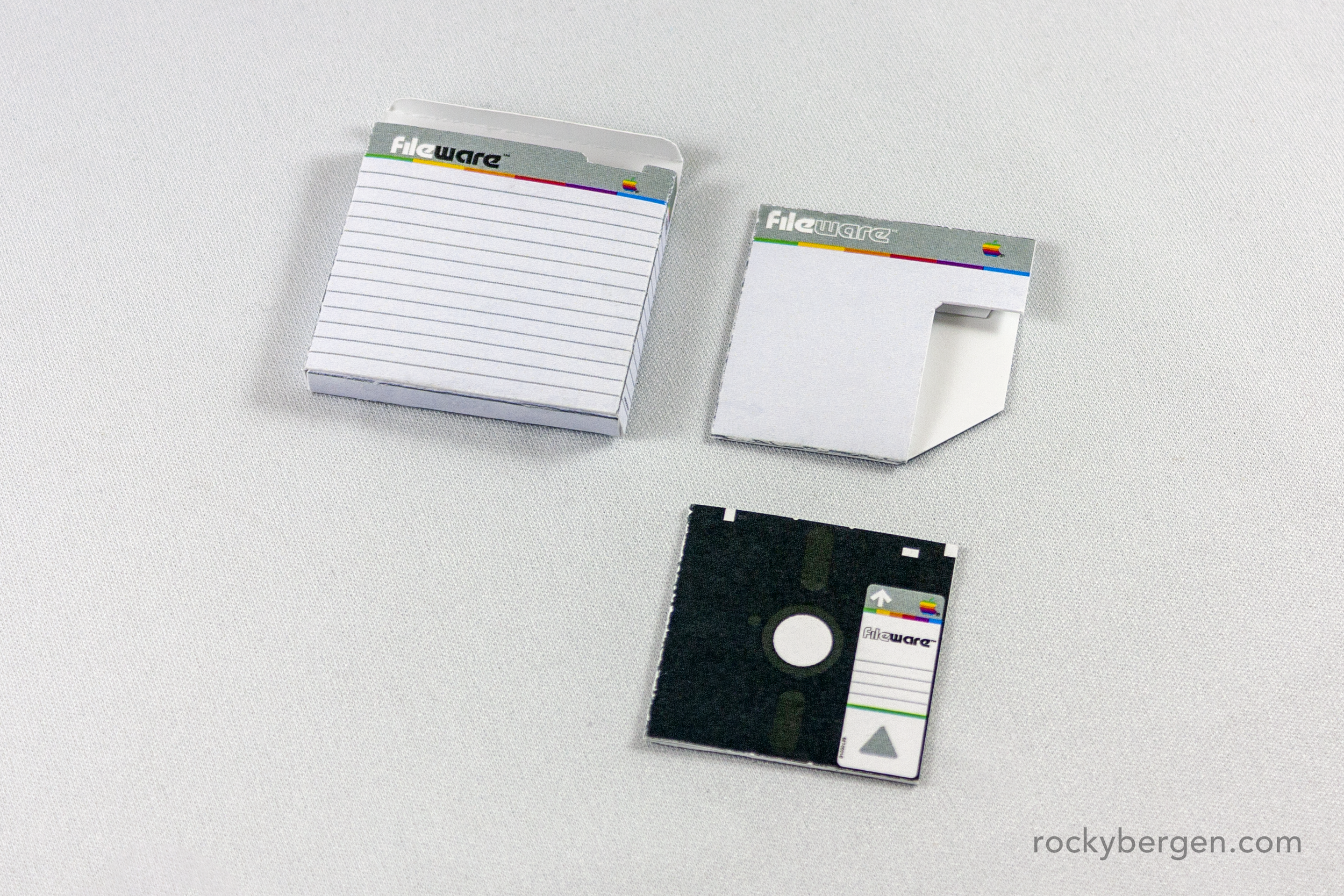 Fileware disks - While they look a lot like common floppy disks, Fileware disks were a proprietary Lisa format and were prone to failure.