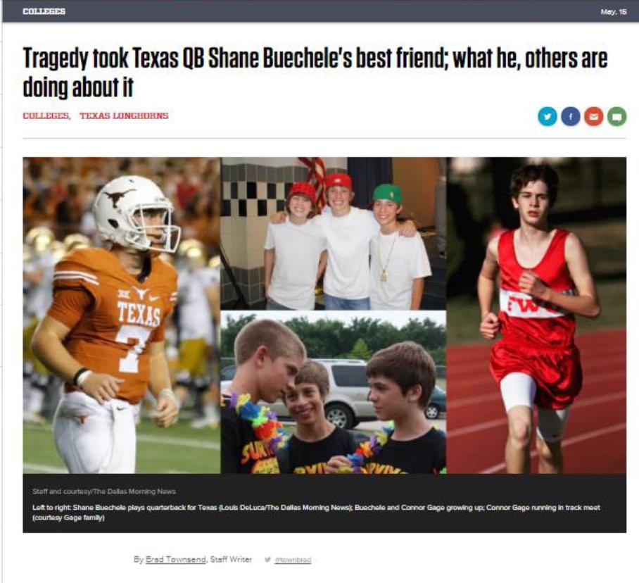 Dallas Morning News-Sports Day, 2017