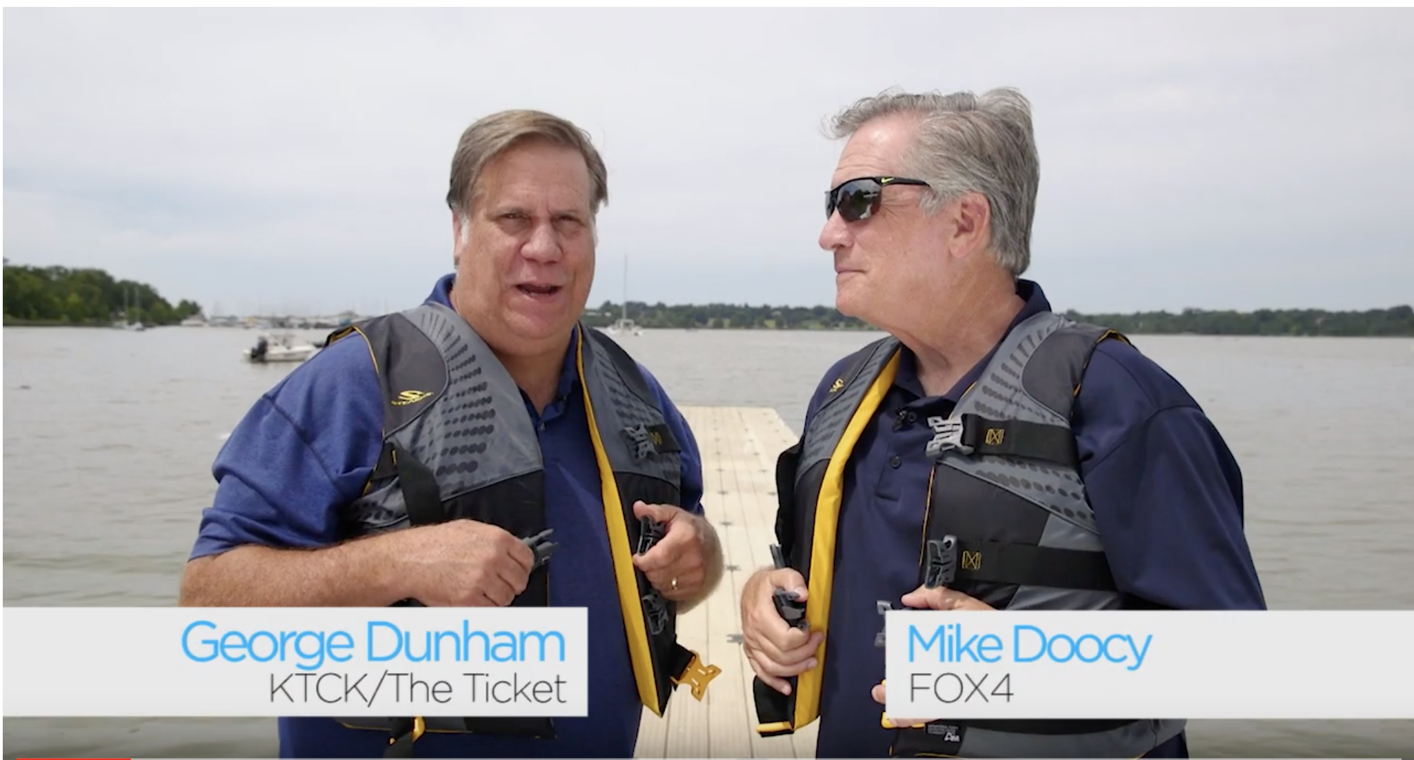 Fox4 Life Vest PSA, Mike & George, 2019