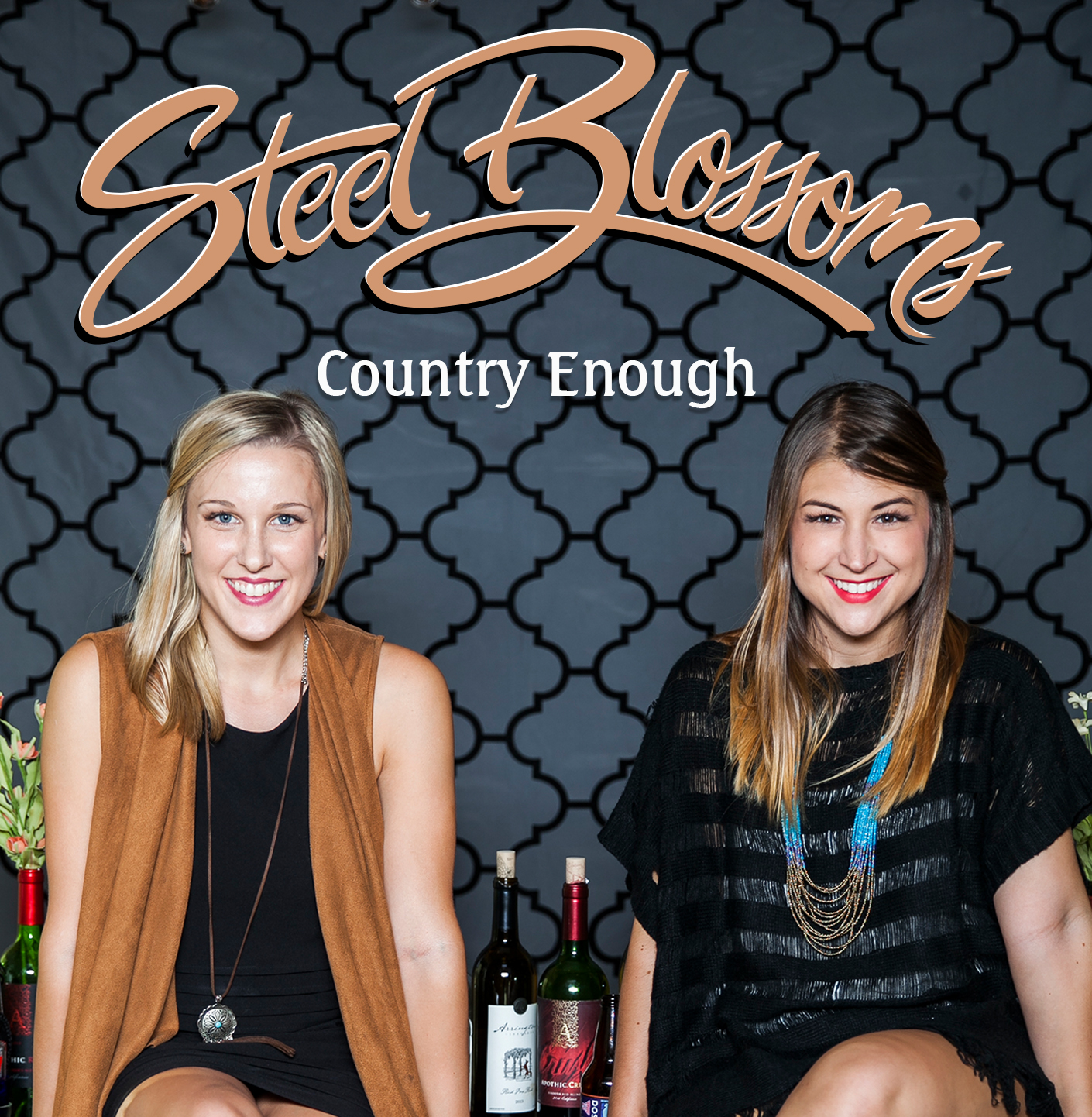 Country Enough is available now through the  Steel Blossoms web store .