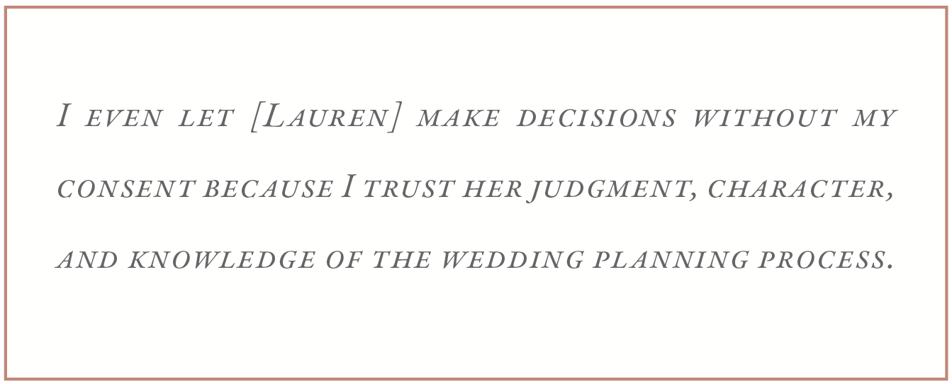 LDC Weddings Bride Review