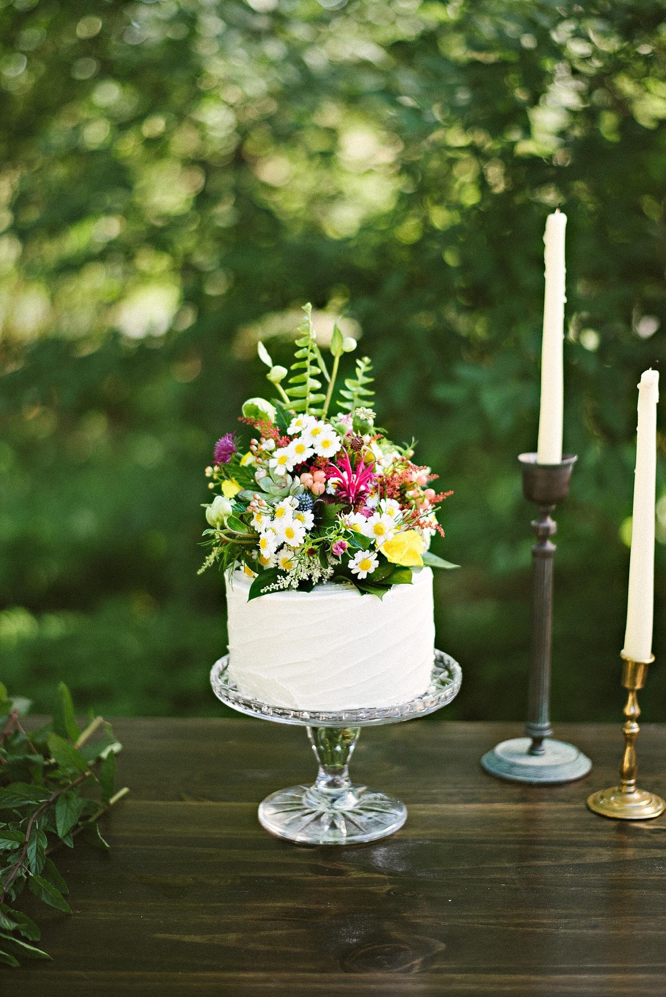 Top Tier Bakery Wedding Cake