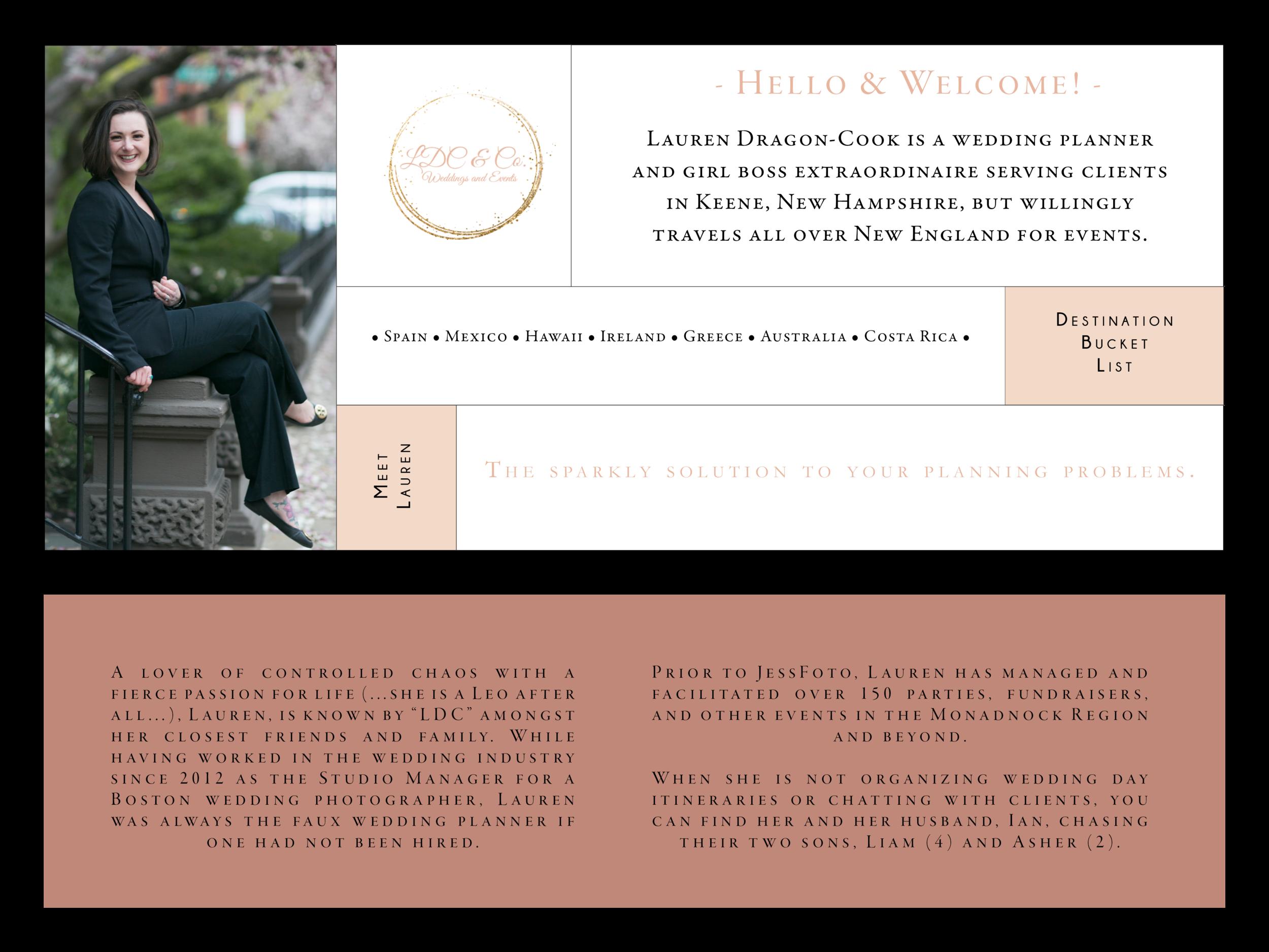 Keene NH Wedding Planner | LDC & Co.