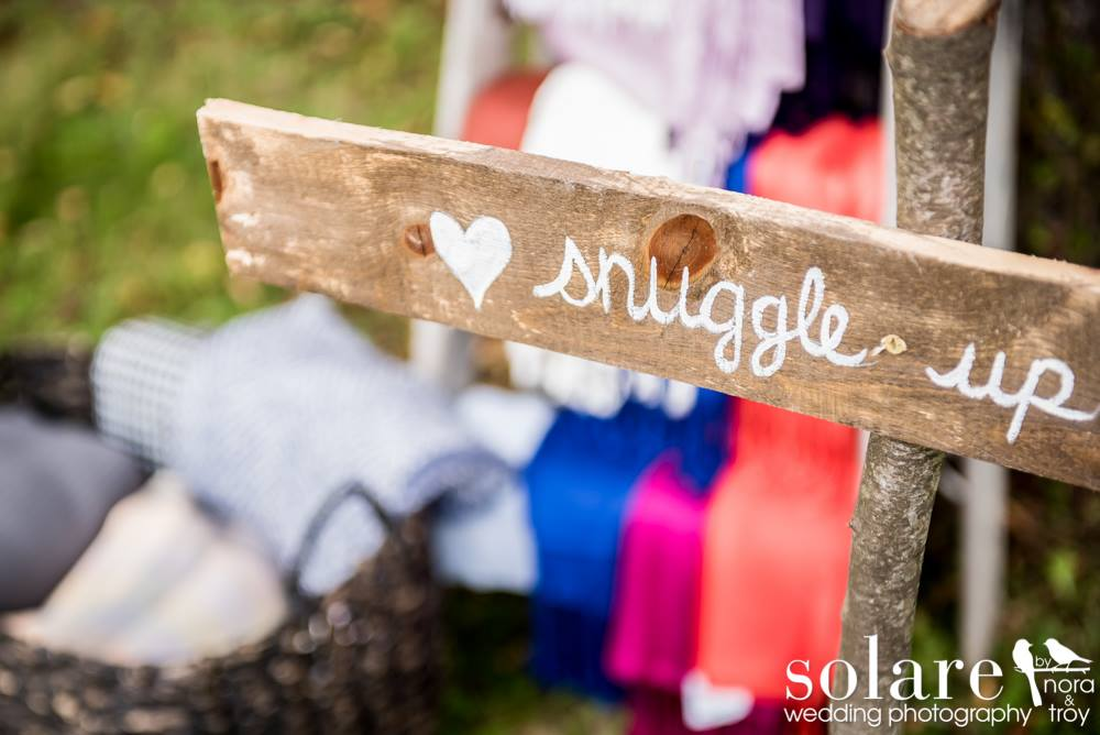 Snuggle Up Blankets Wedding in norwich vt