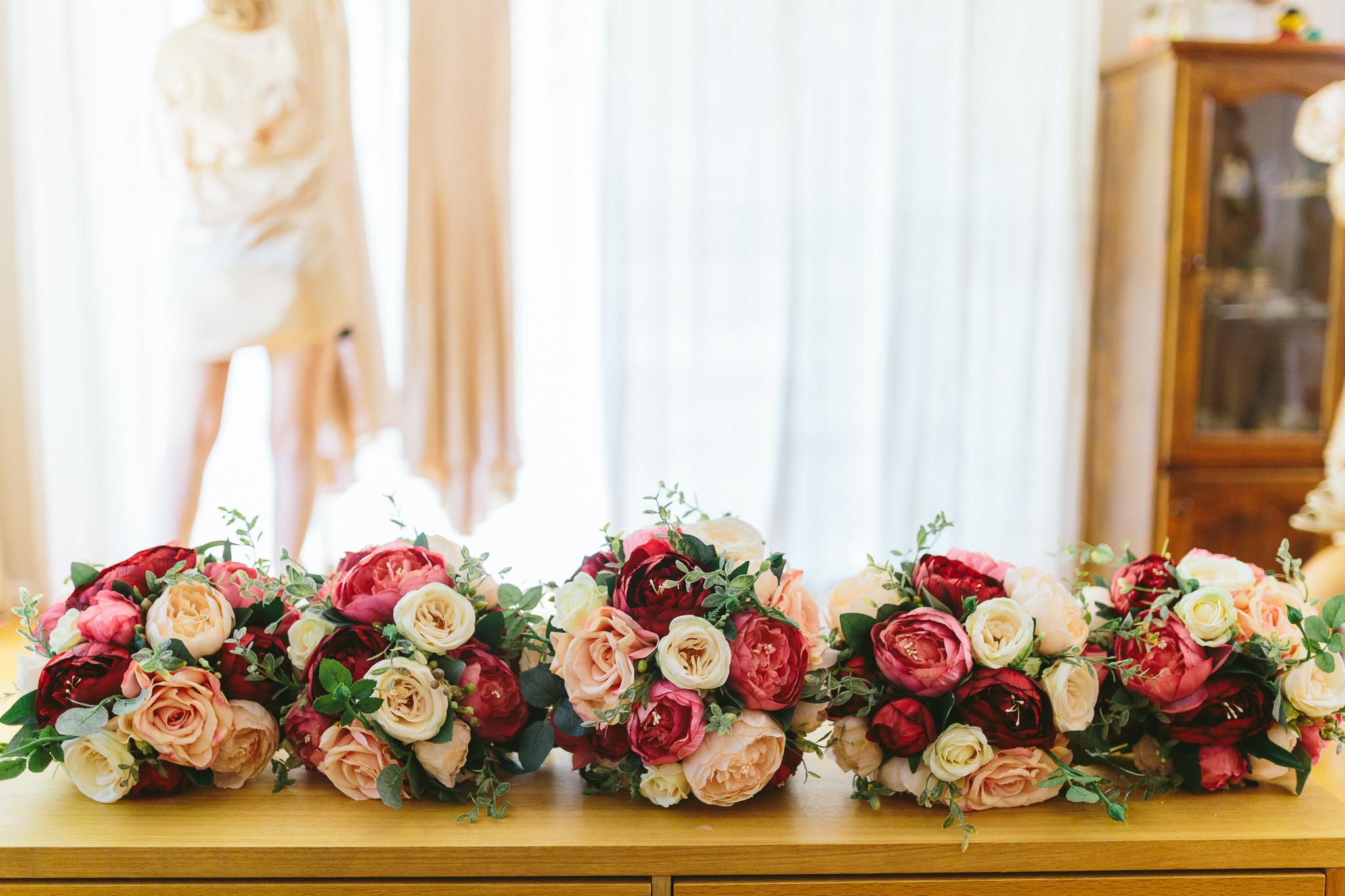 Berry Color Bouquets