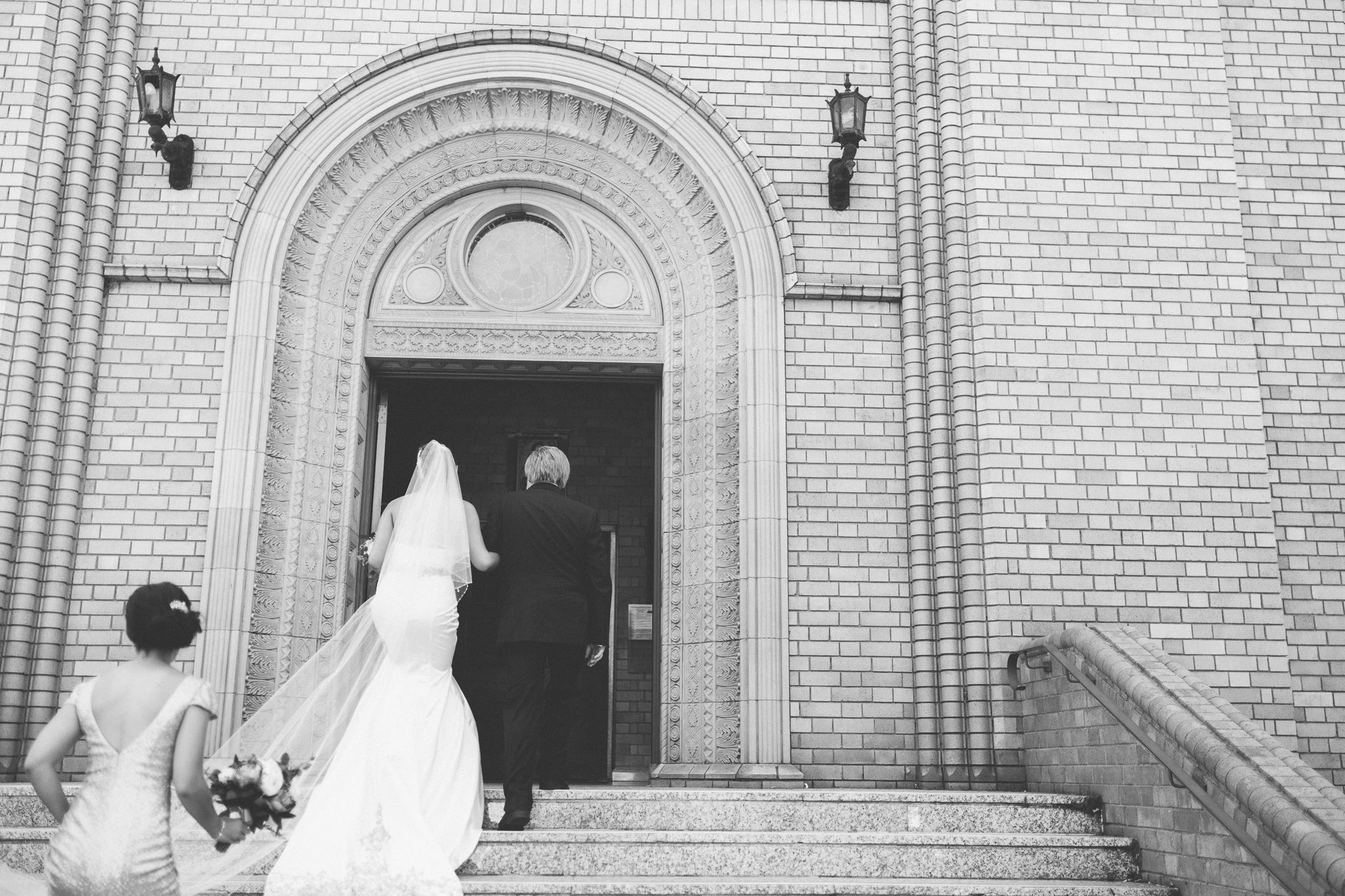 St Christopher's Cathedral in Canberra Wedding Day