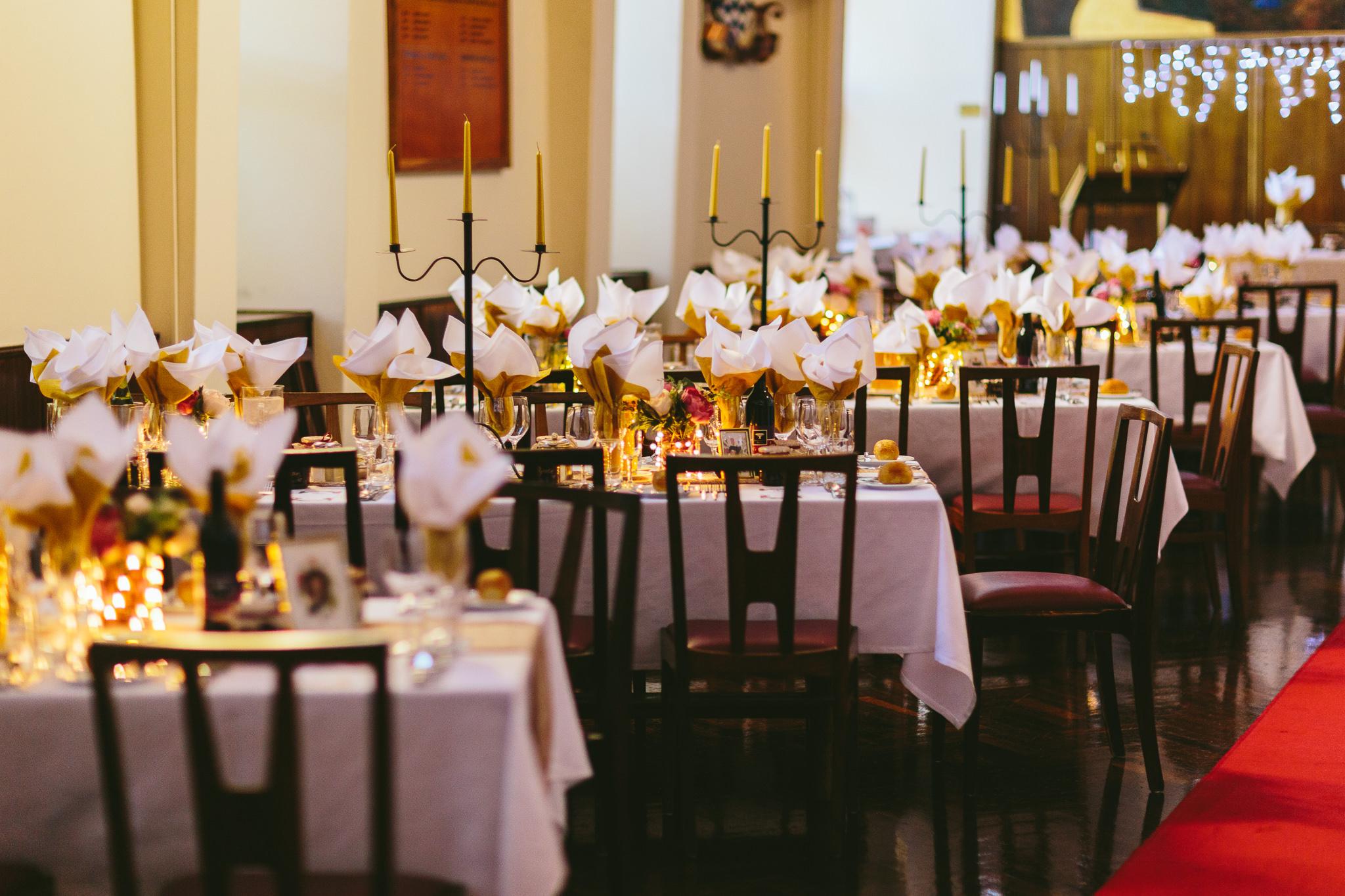Old Hollywood Wedding Reception