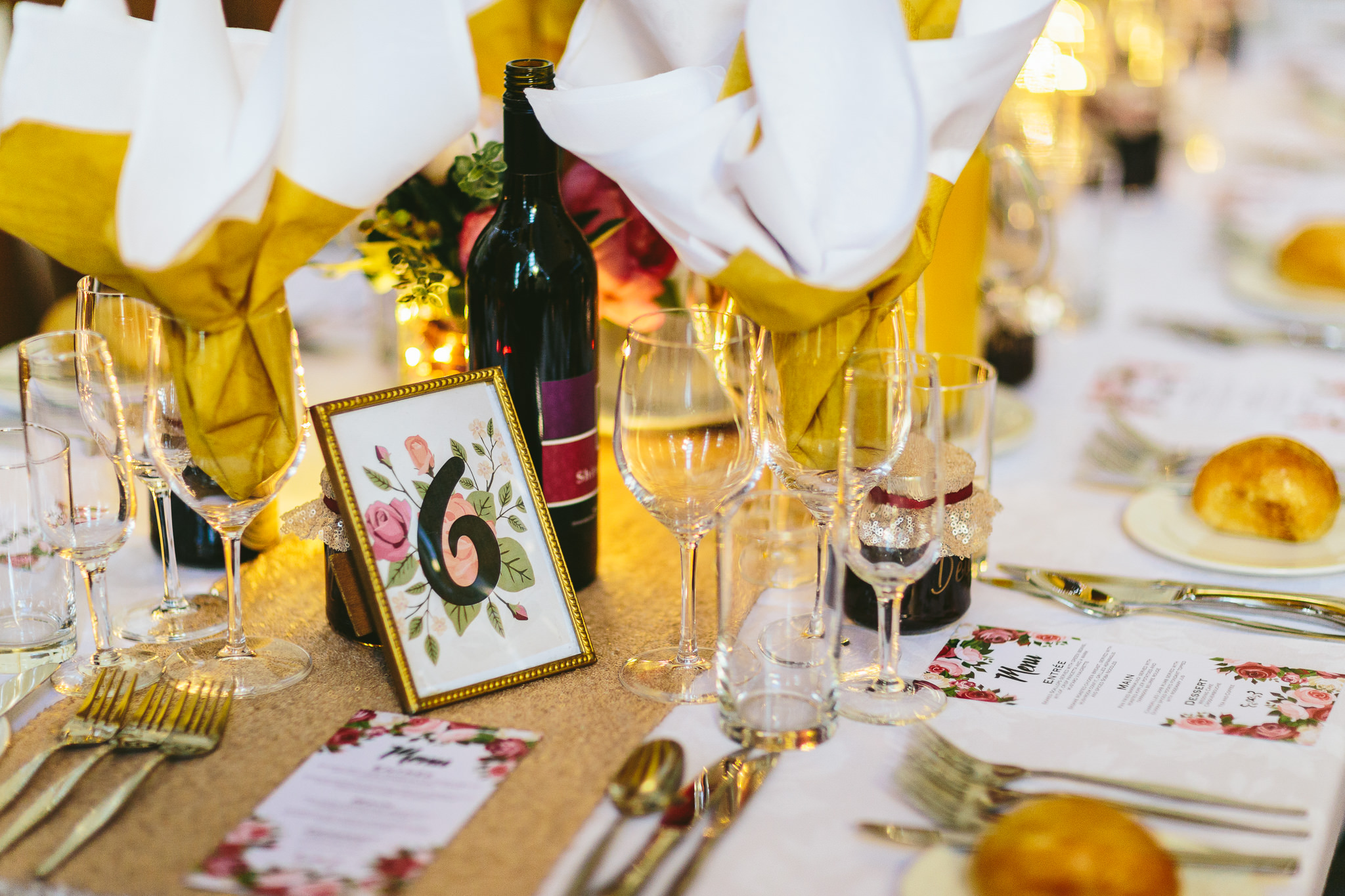 Old Fashion and Glamour Wedding