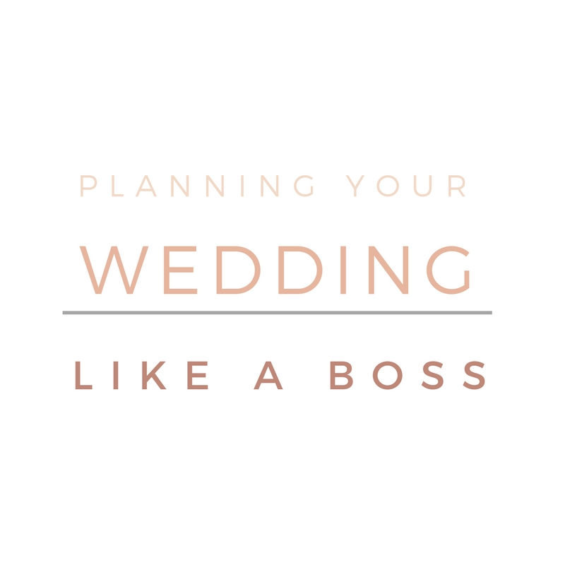 Planning your wedding like a boss