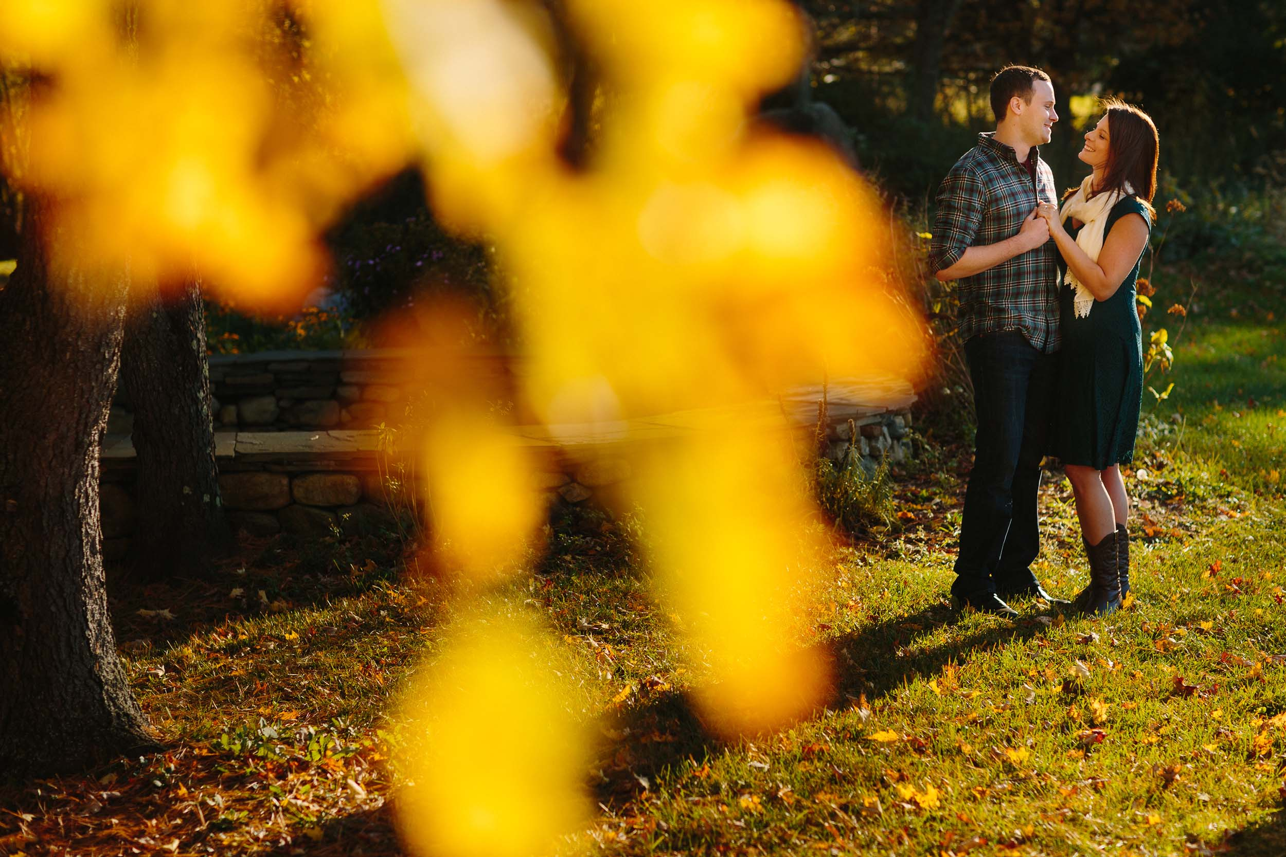Stonewall Farm Fall Engagement in Keene NH