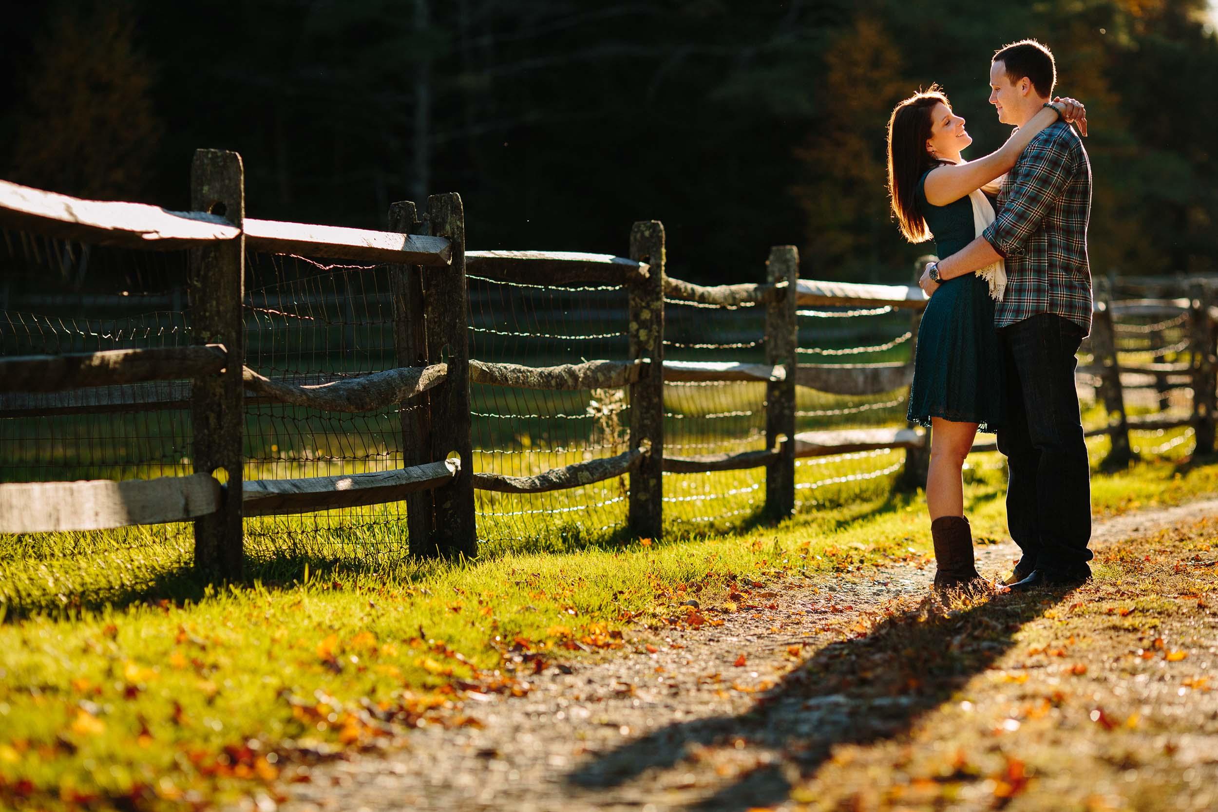 Stonewall Farm Fall Engagement | Sarah and Jared
