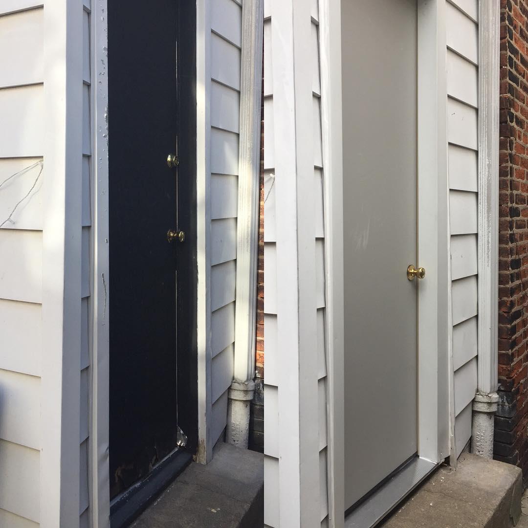 Front Door & Door Frame Replacement