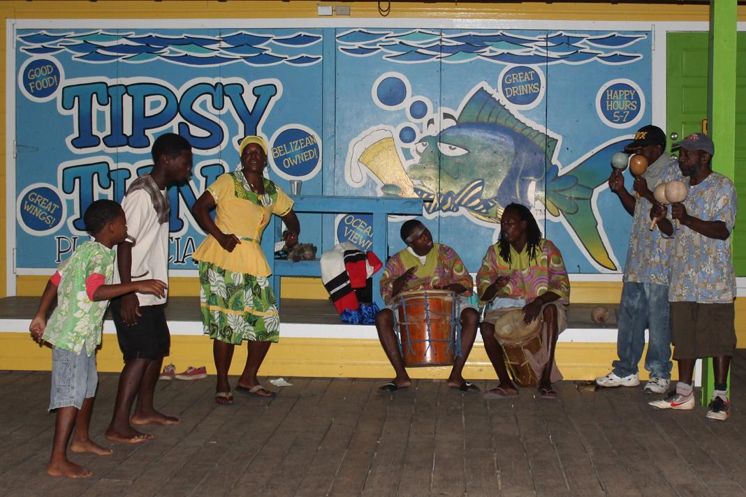 Garifuna Drummers and Dancers