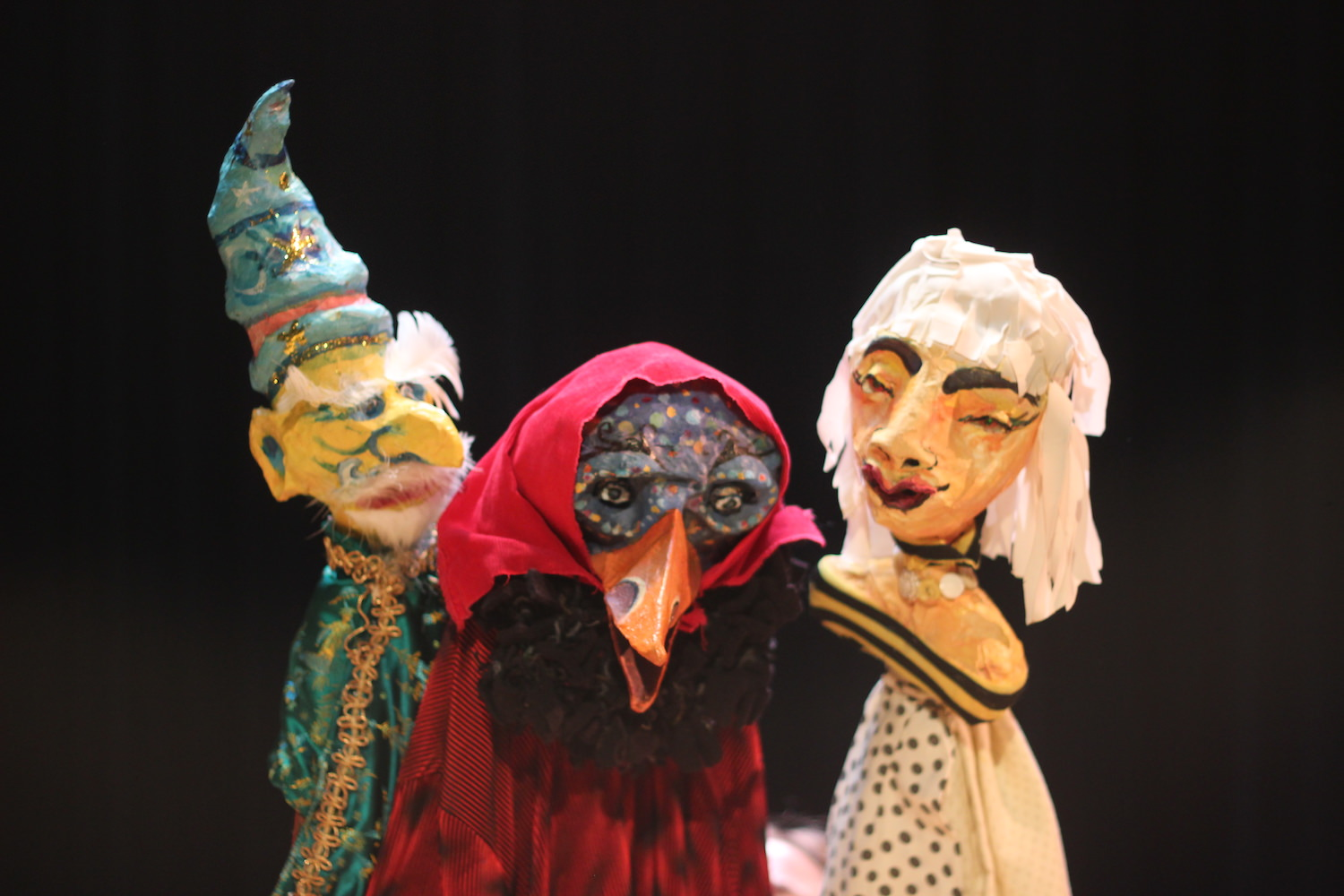 Christian Anne Smith Puppets  Firehouse The Stick Collector, The Wizard and The Bumblebee Queen 5.JPG