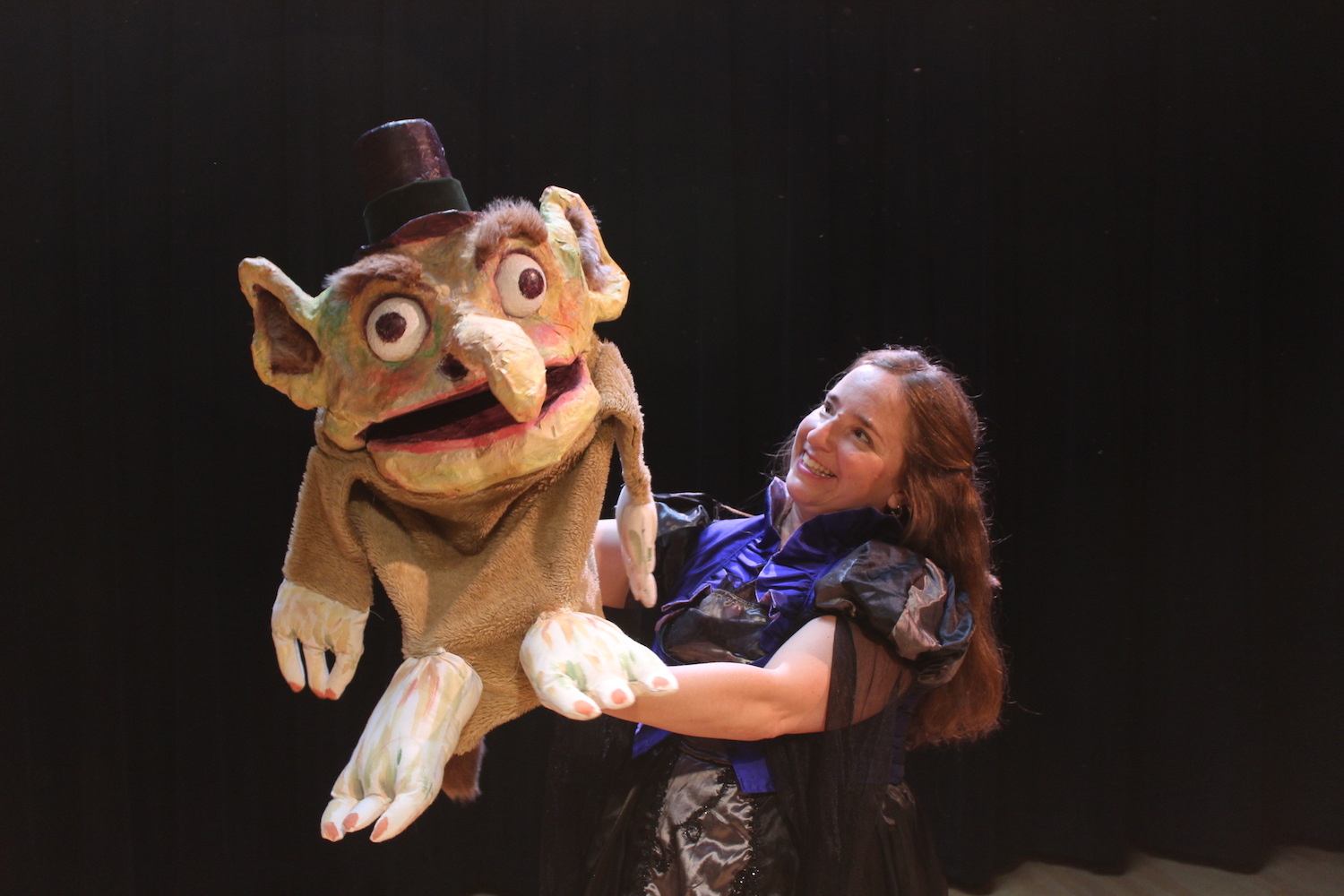 Christian Anne Smith Puppets  Firehouse The Three Billy Goats Gruff, Flora and The Troll 8.JPG