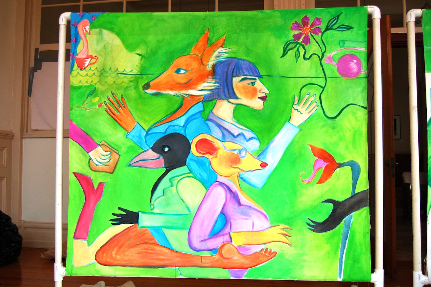 Christian Anne Smith, Dance Makers, Murals and Sets 2.jpg