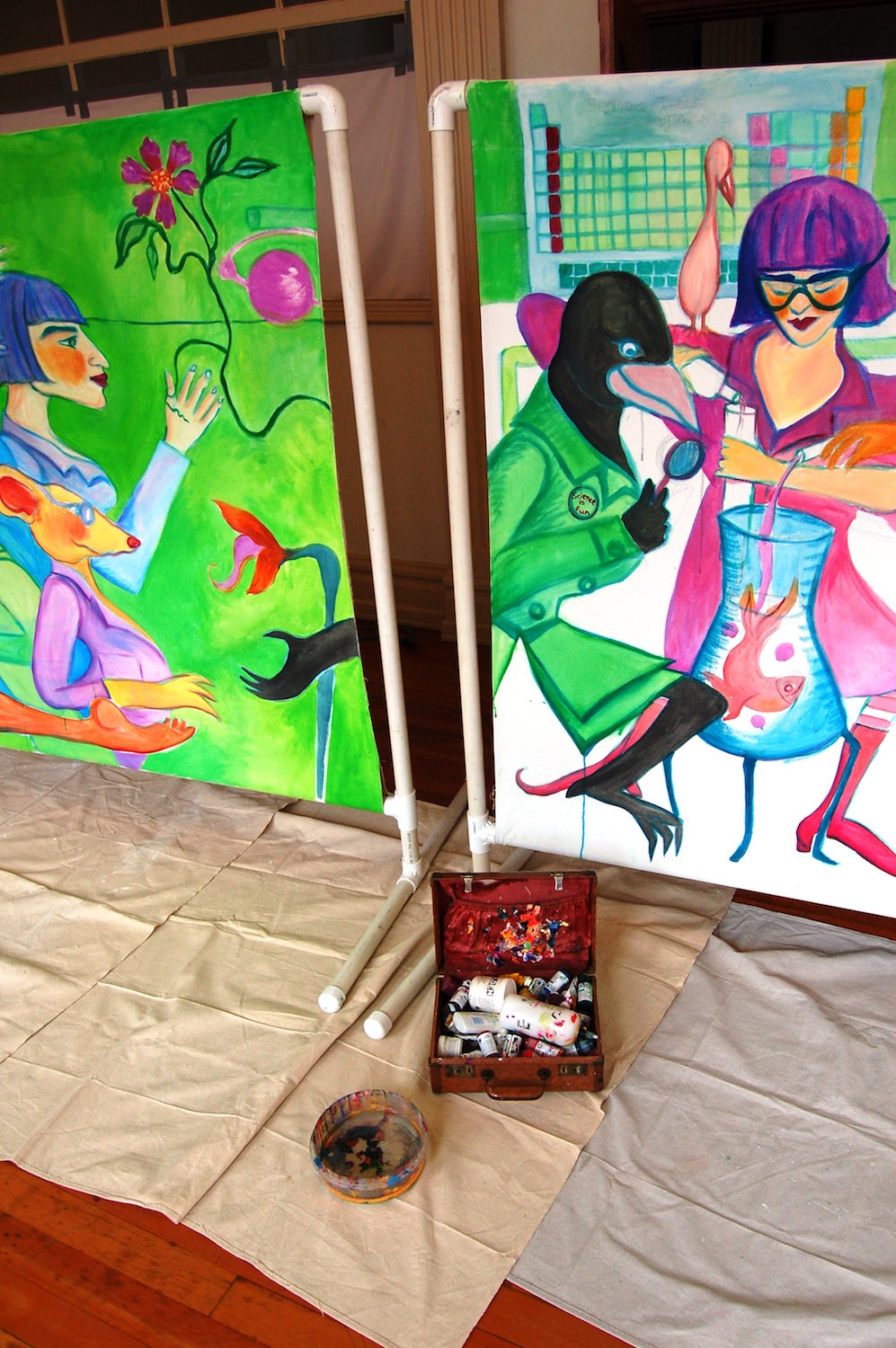 Christian Anne Smith, Dance Makers, Murals and Sets 4.jpg