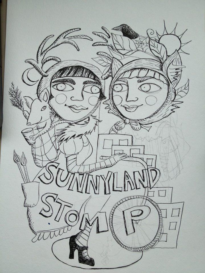 sunnyland Stomp progress pic.jpg