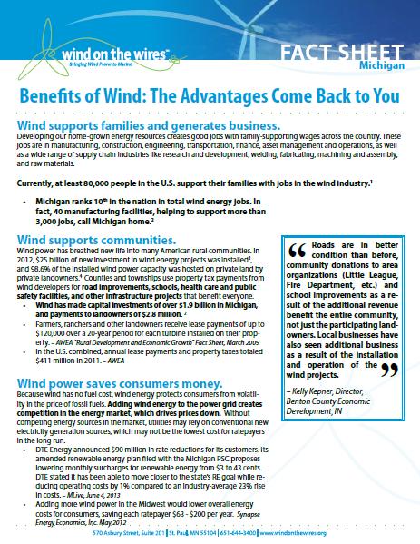 Benefits of Wind
