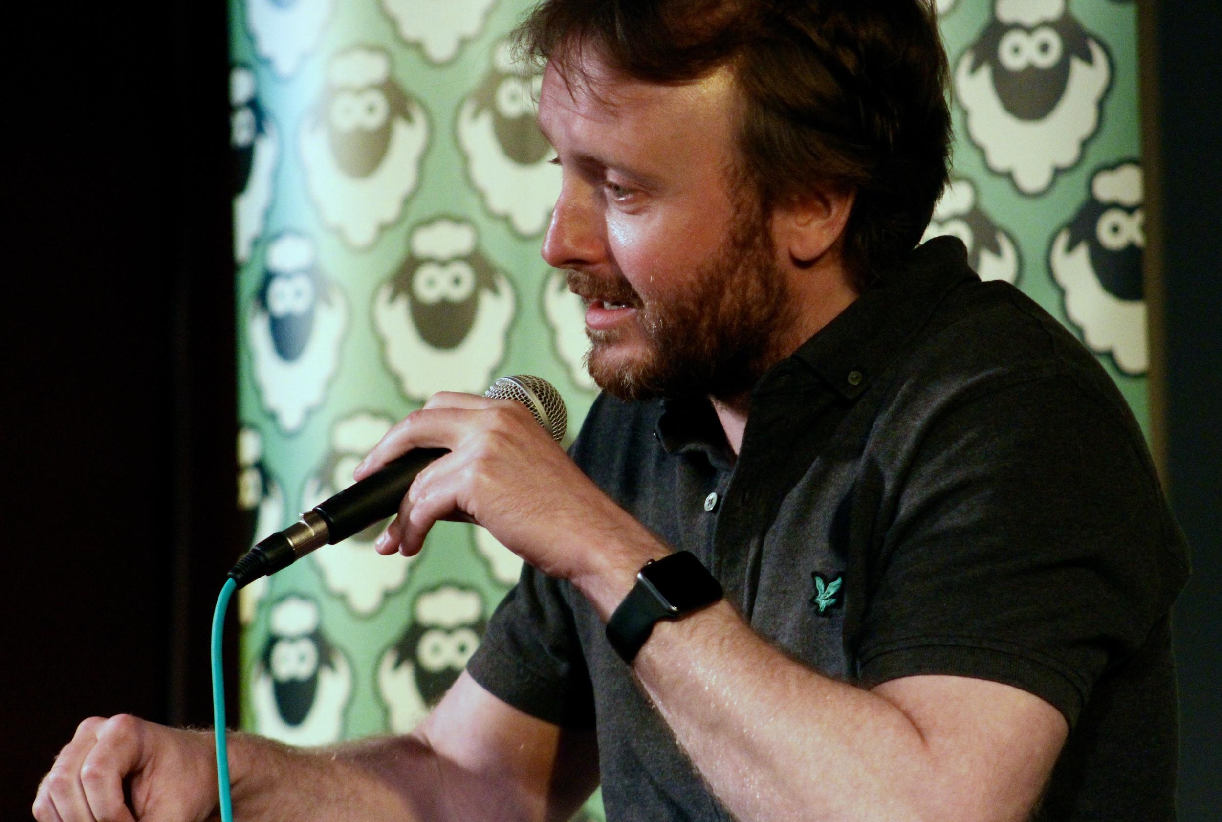 Chris McCausland at Woodstock Social Club