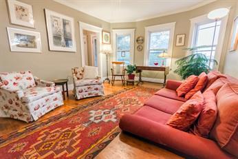 sold - 95 Jamaica Street #2 - jamaica plain - 3 bed w. deck/parking -M. Gilson