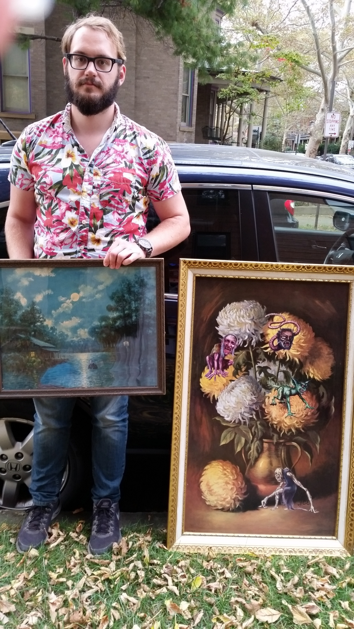 Jason purchases his first art! (Jenny helps with the purchase)