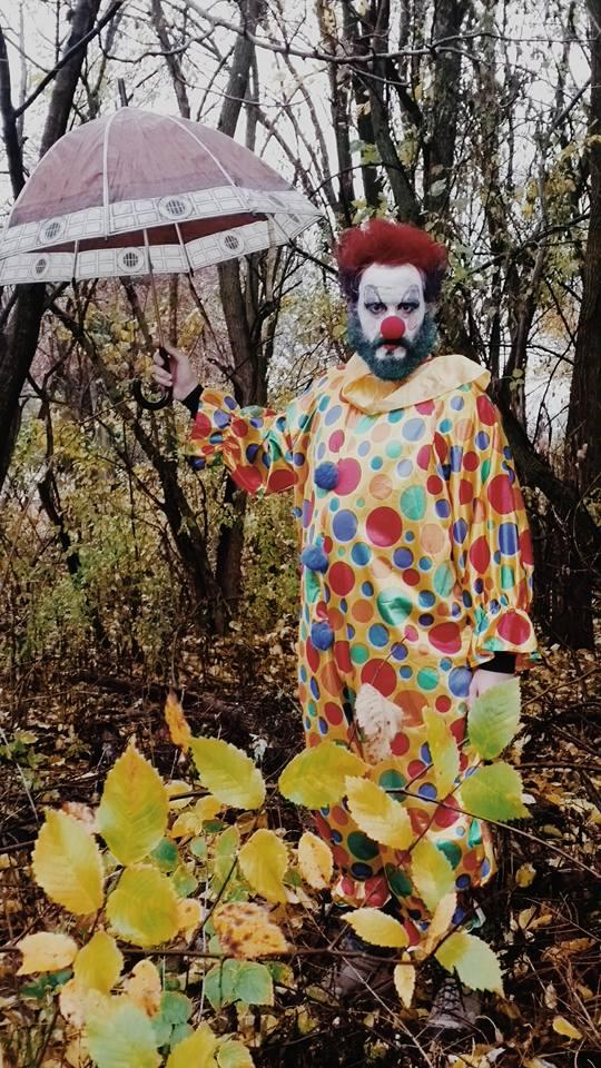 Jason enjoying Halloween