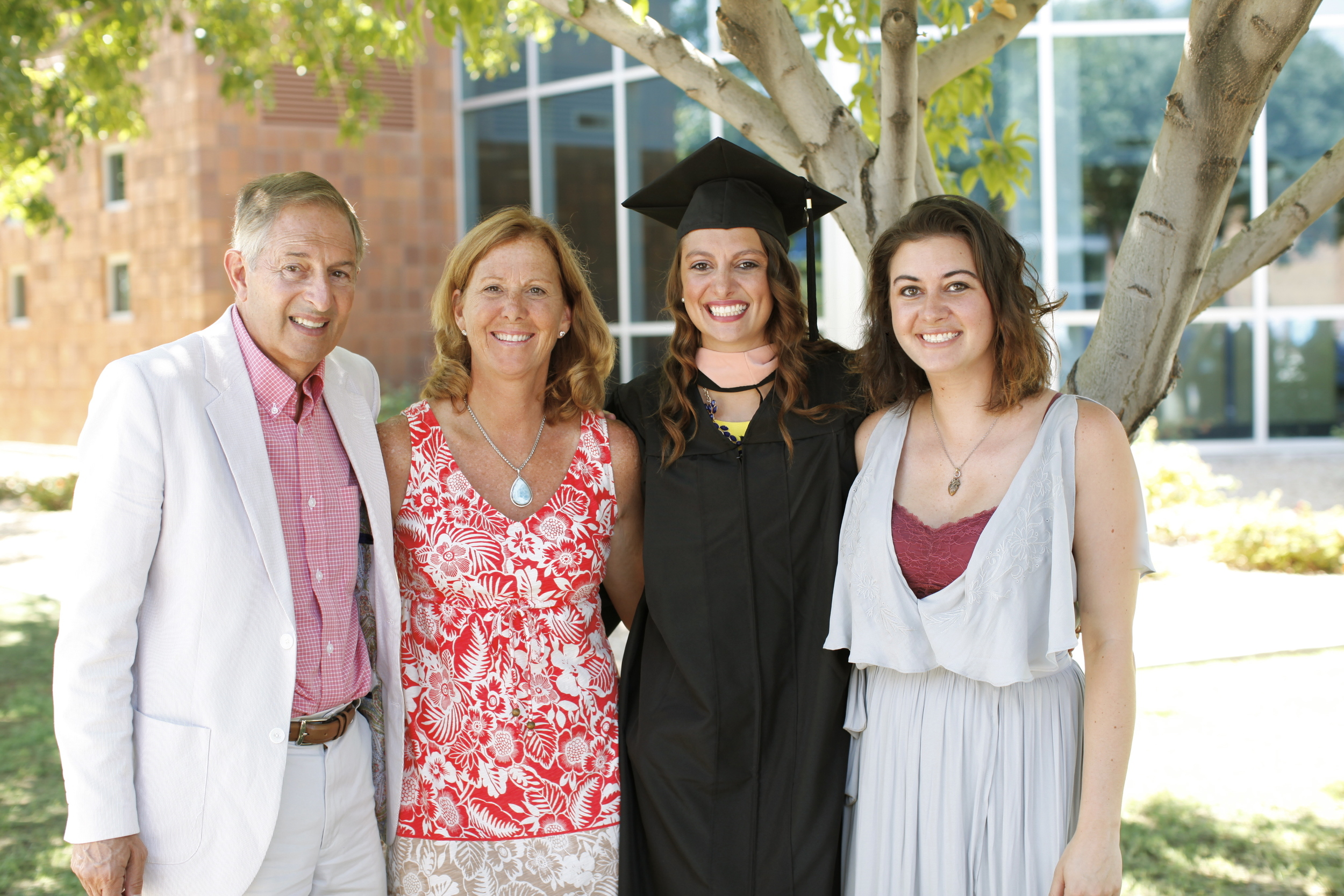 Jenny's sister & her boyfriend graduate their Occupational Therapy master's program in Arizona