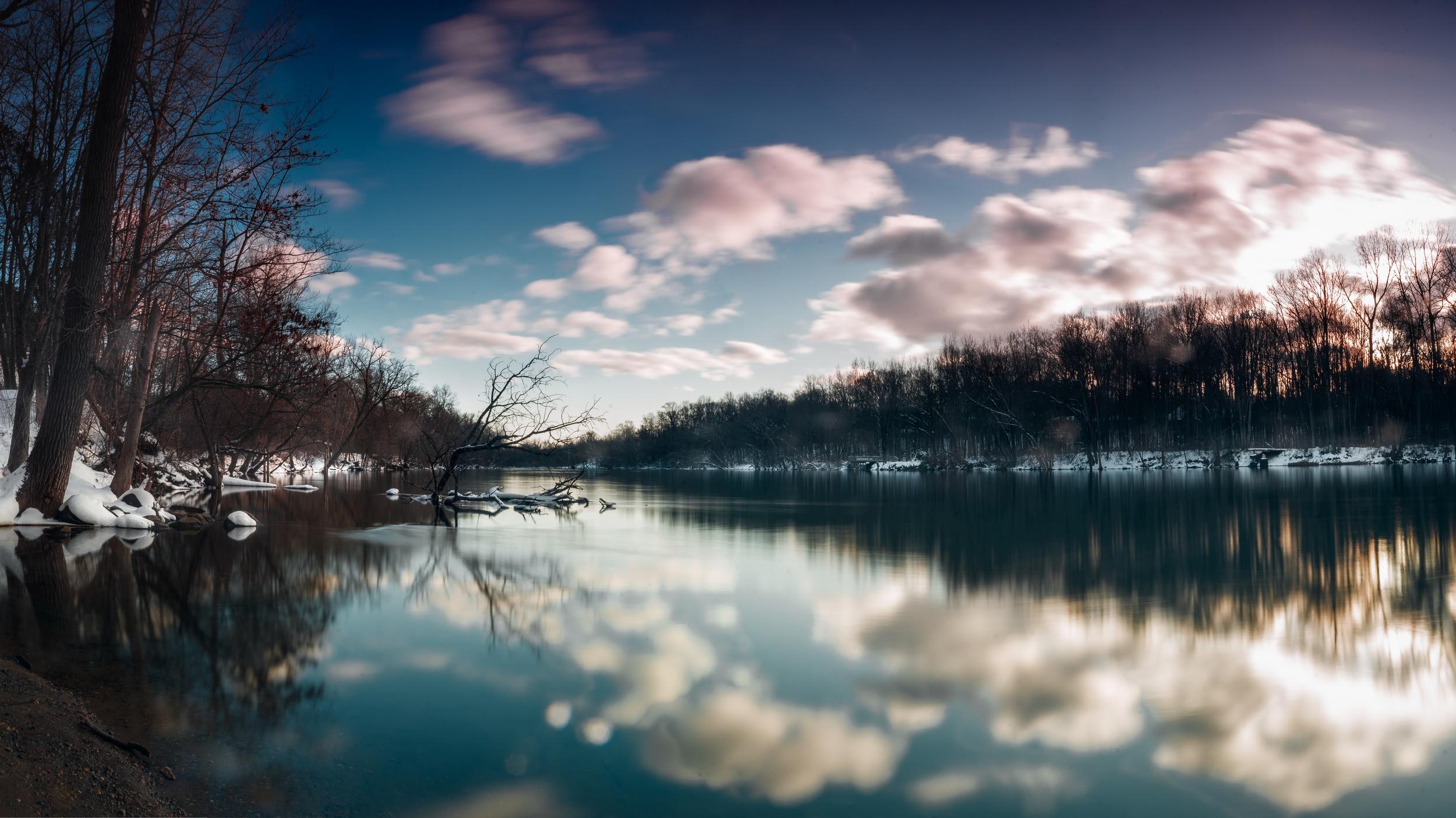 Winter on the St. Joe River