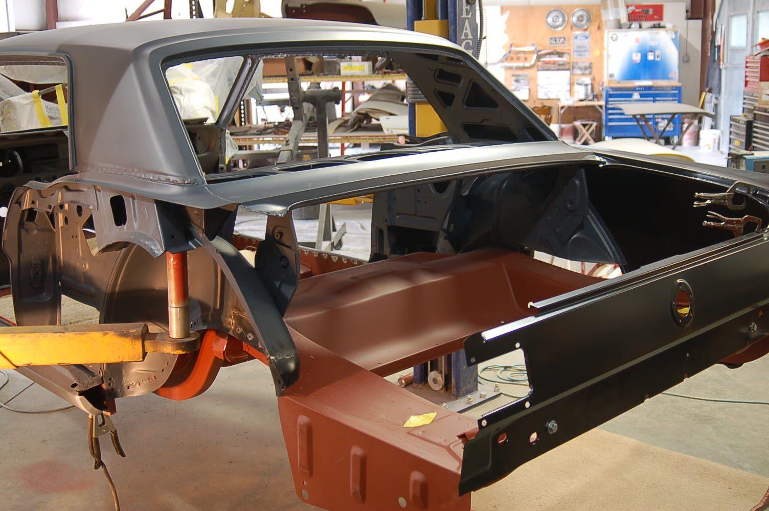 1966 Mustang Frame off restoration 45.jpg