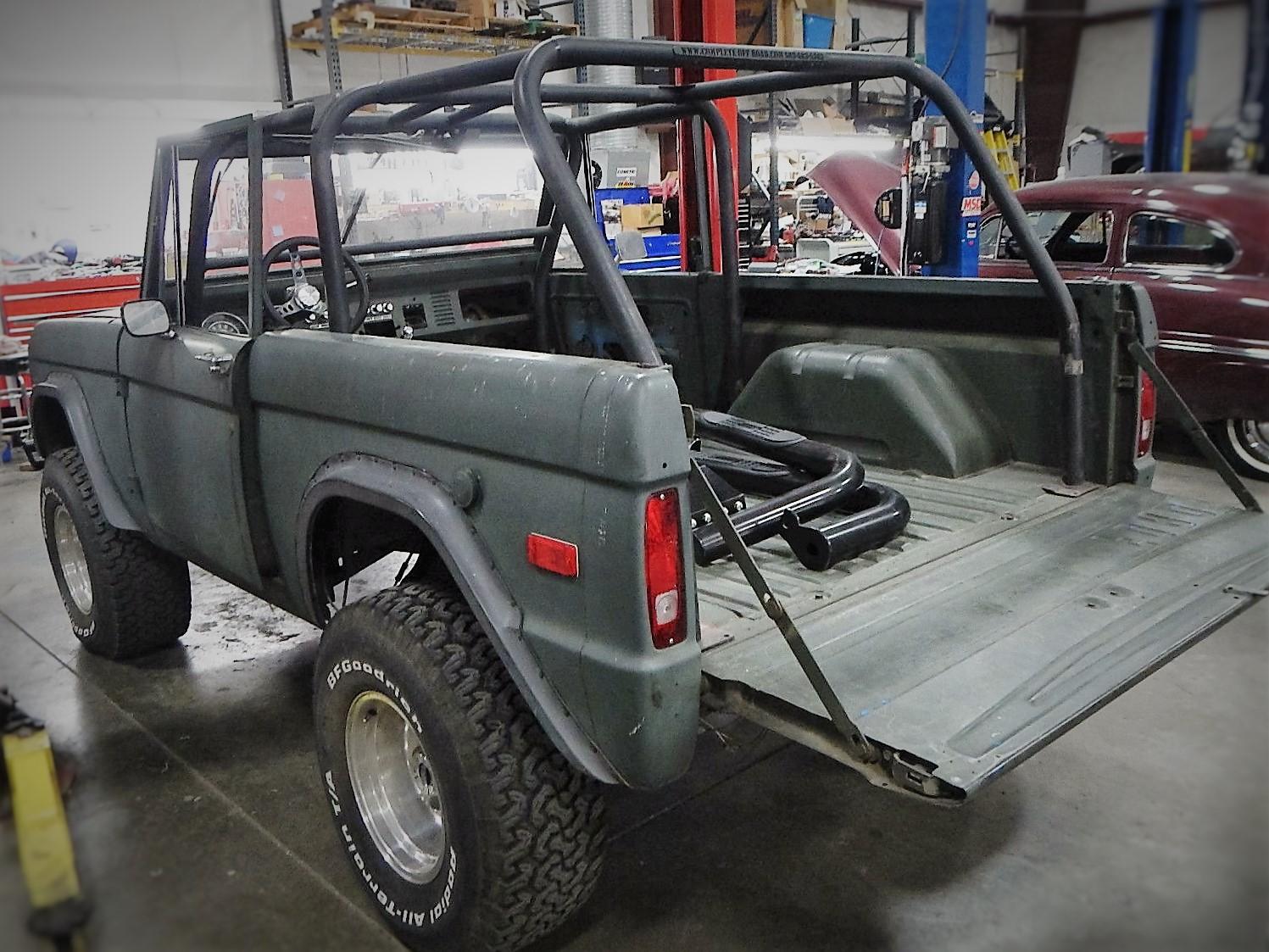 1974 Ford Bronco Restoration