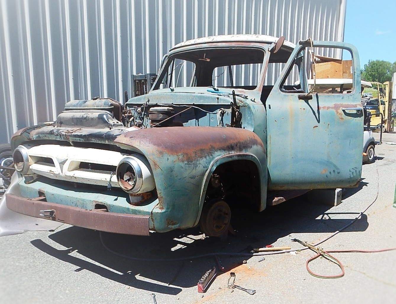 1953 Ford F100 Restoration