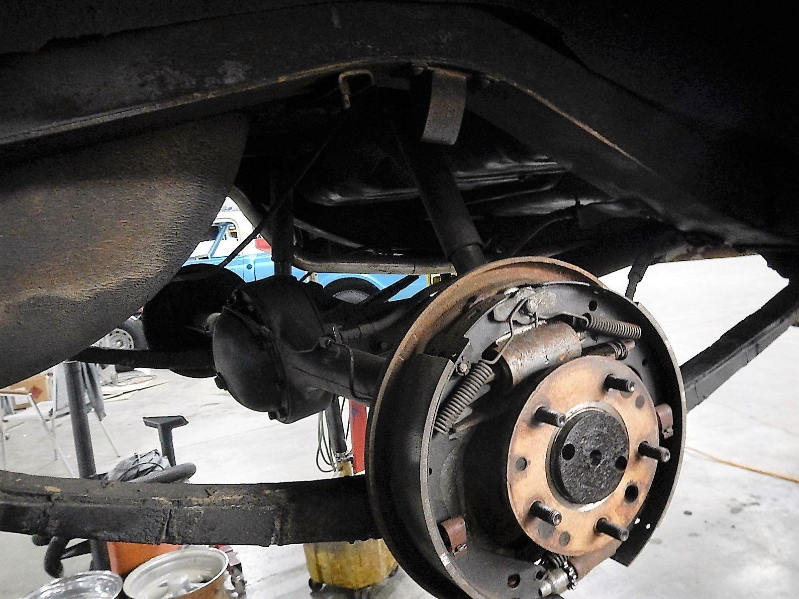 1951 Chevy Disk Brake Job -Franks-  007.jpg