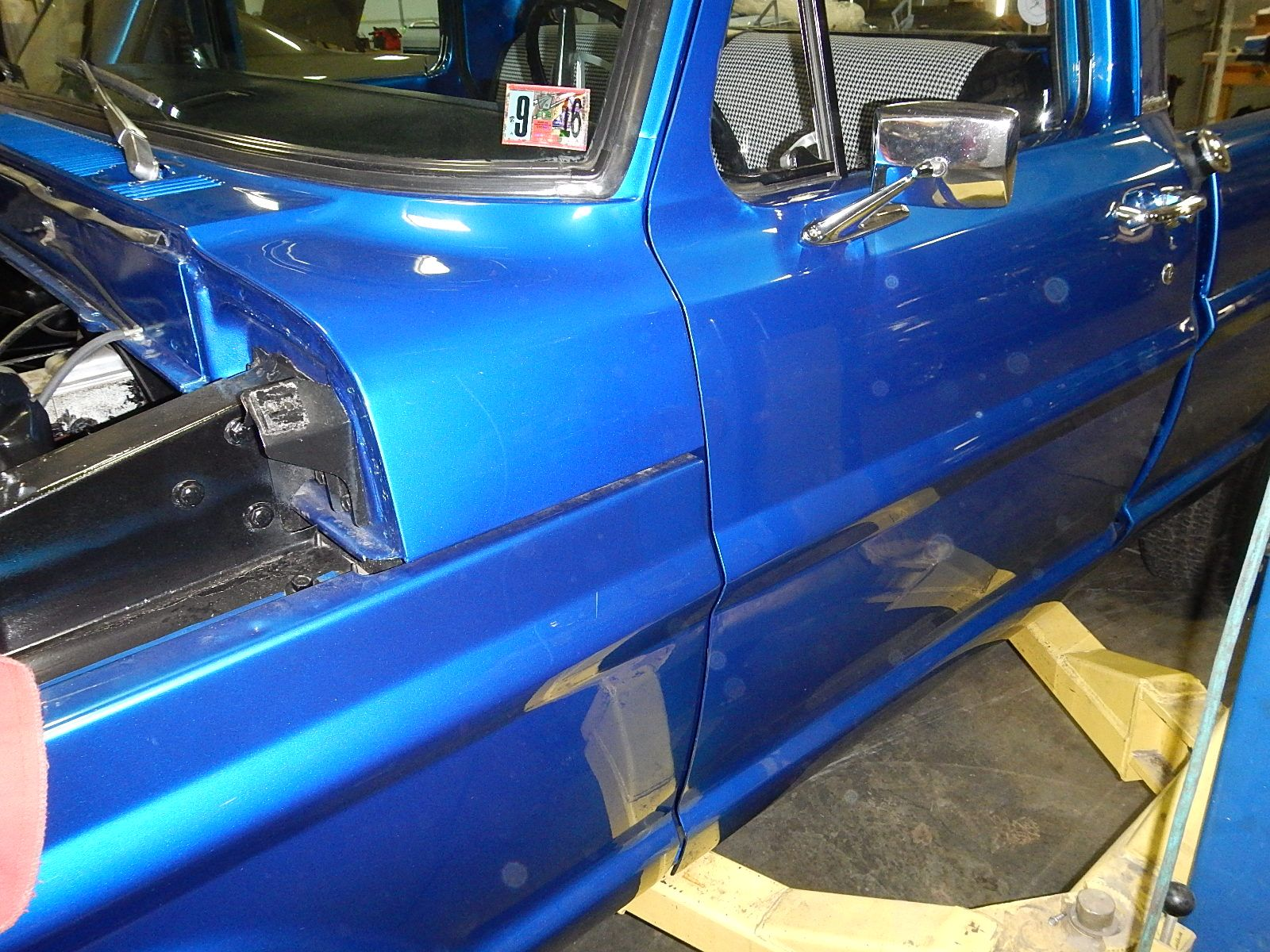 1968 Ford F-100 Front End Swap - Mercury Crown Vic  004.jpg