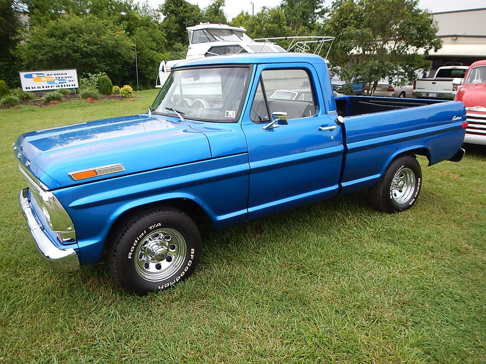 1968 Ford F-100 Front End Swap - Mercury Crown Vic  001.jpg