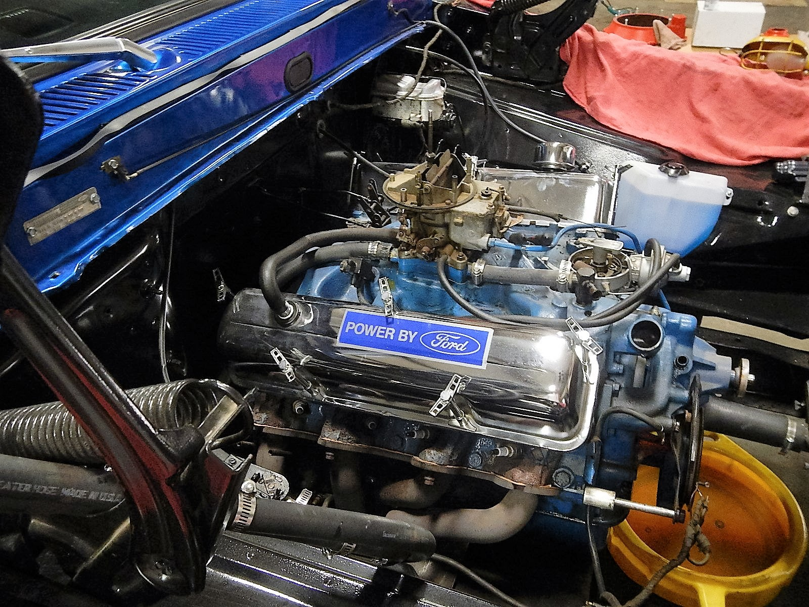 1968 Ford F-100 Front End Swap - Mercury Crown Vic  012.jpg