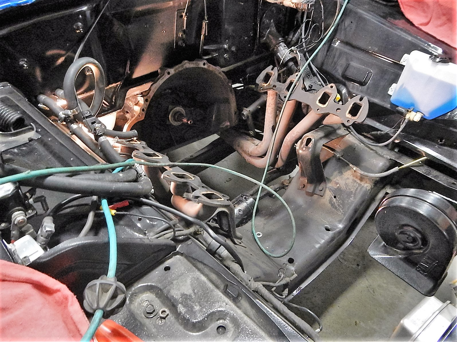 1968 Ford F-100 Front End Swap - Mercury Crown Vic  024.jpg