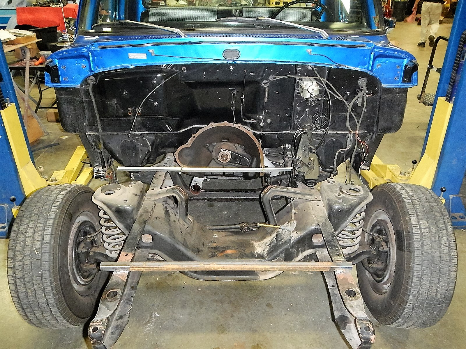 1968 Ford F-100 Front End Swap - Mercury Crown Vic  032.jpg
