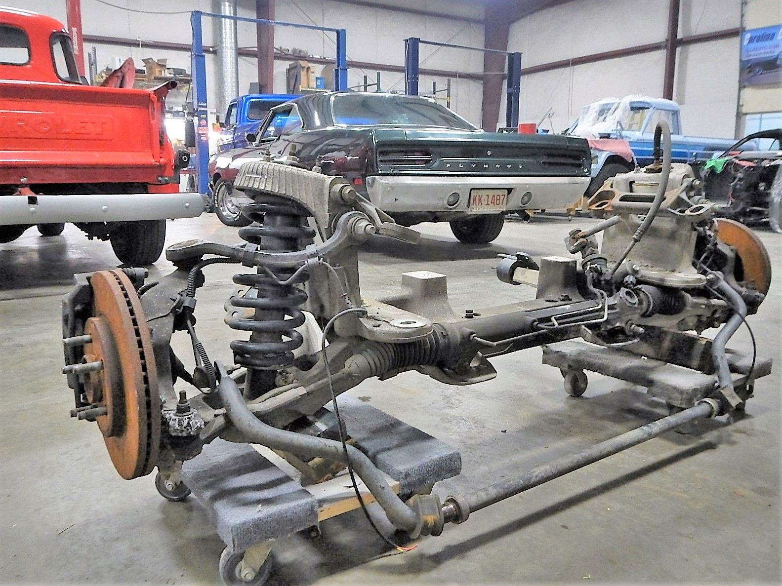 1968 Ford F-100 Front End Swap - Mercury Crown Vic  044.jpg